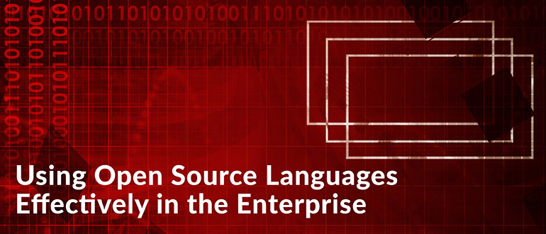 Using Open Source Languages Effectively