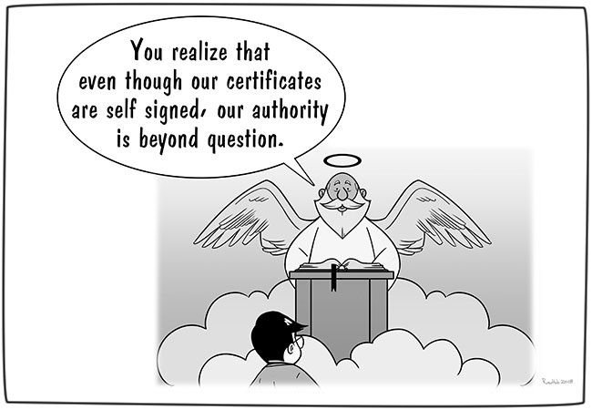 self-signed-certificate