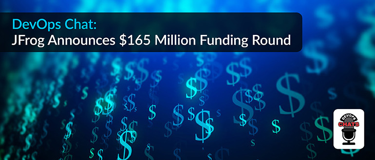 JFrog Announces $165 Million Funding Round