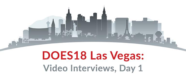 DOES18 Las Vegas: Video Interviews