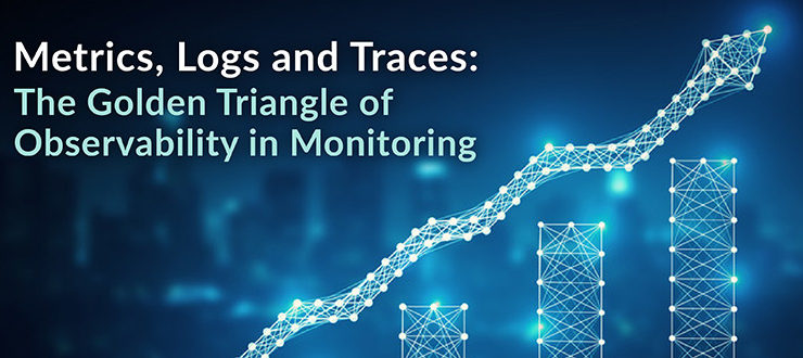Golden Triangle of Observability in Monitoring