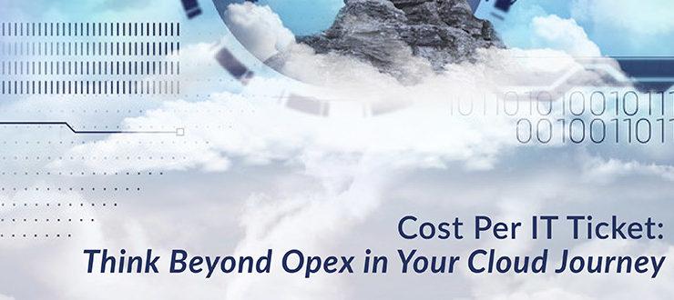 Cost Per IT Ticket