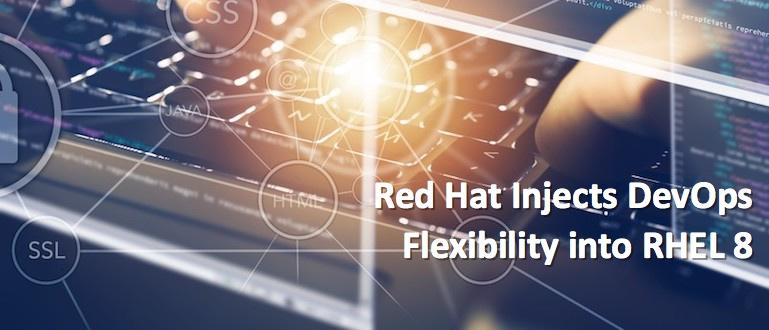 Red Hat Injects DevOps Flexibility into RHEL 8