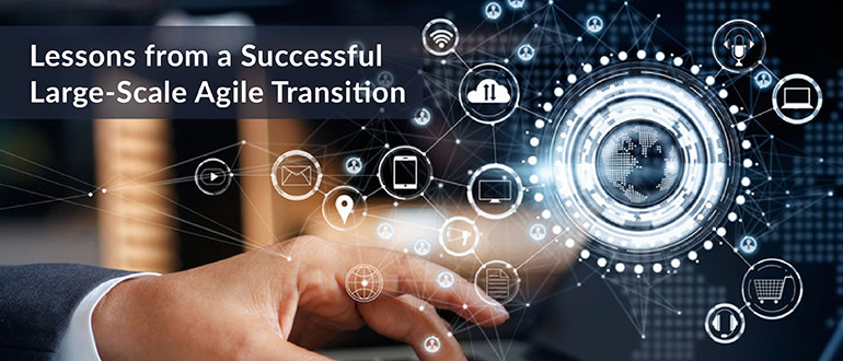 Successful Large-Scale Agile Transition