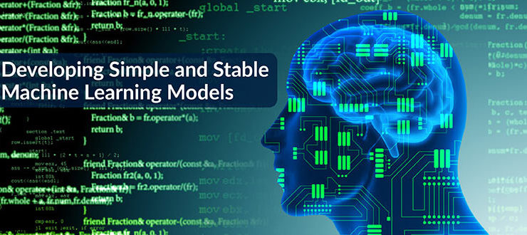 Developing Simple and Stable Machine Learning Models