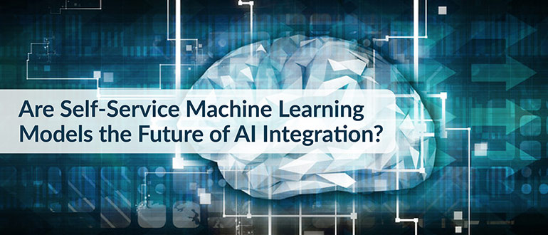 Self-Service Machine Learning Models AI Integration