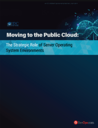 Moving to the Public Cloud