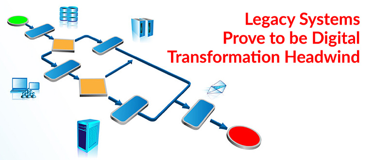 Legacy Systems Prove to be Digital Transformation Headwind