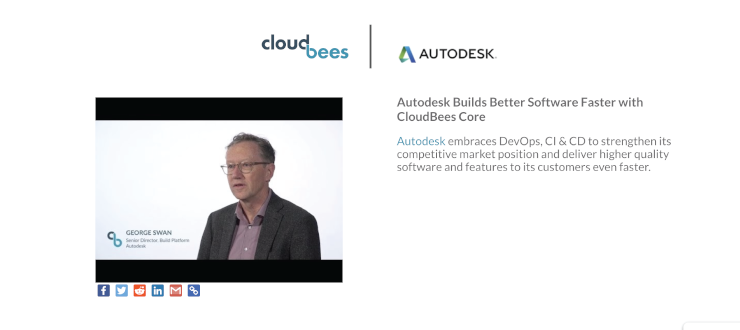 Autodesk Builds Better Software Faster with CloudBees Core
