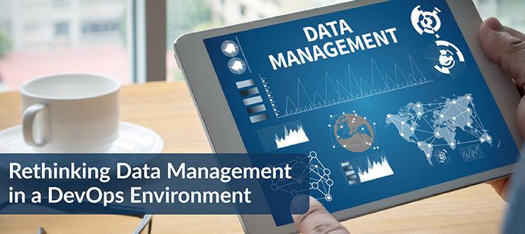 Rethinking Data Management DevOps Environment