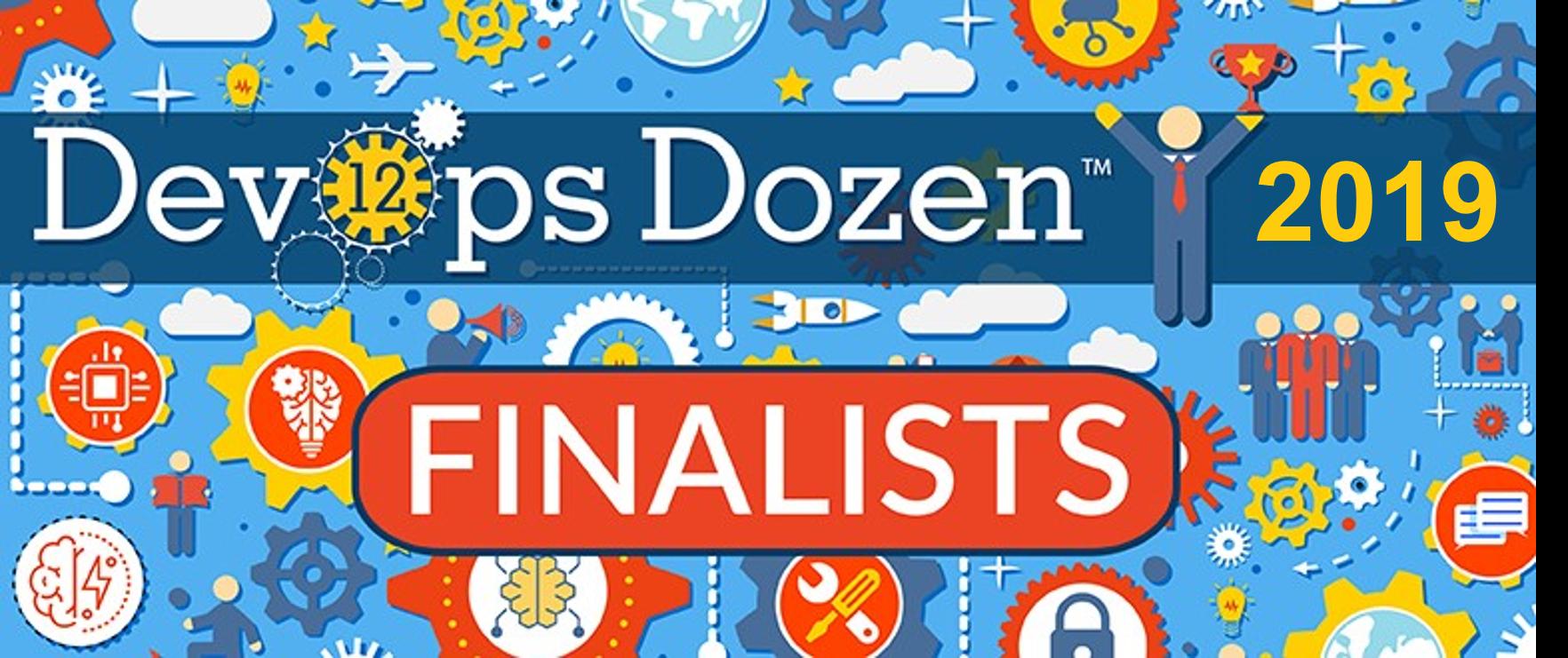 2019 DevOps Dozen Finalists Announced