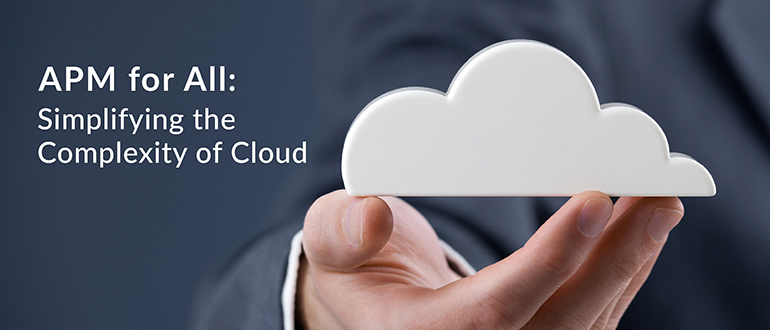 APM Simplifying Complexity Cloud