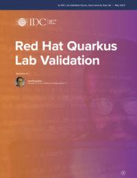 Red Hat Quarkus Lab Validation