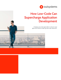 How Low-Code Can Supercharge Application Development