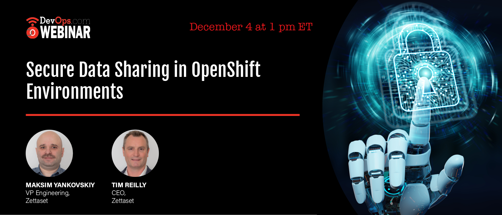 Secure Data Sharing in OpenShift Environments