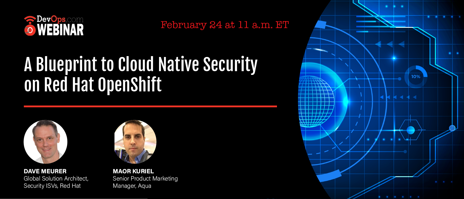 A Blueprint to Cloud Native Security on Red Hat OpenShift