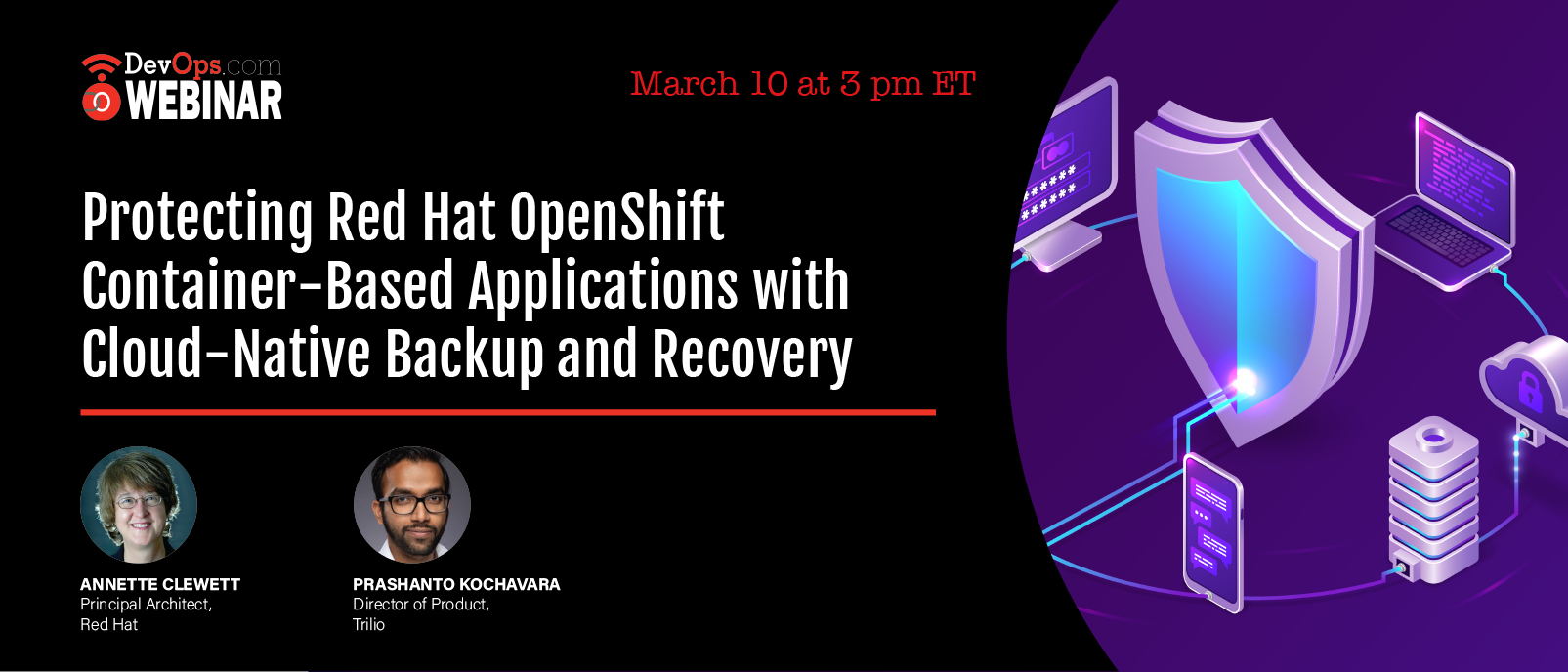 Protecting Red Hat OpenShift Container-Based Applications with Cloud-Native Backup and Recovery