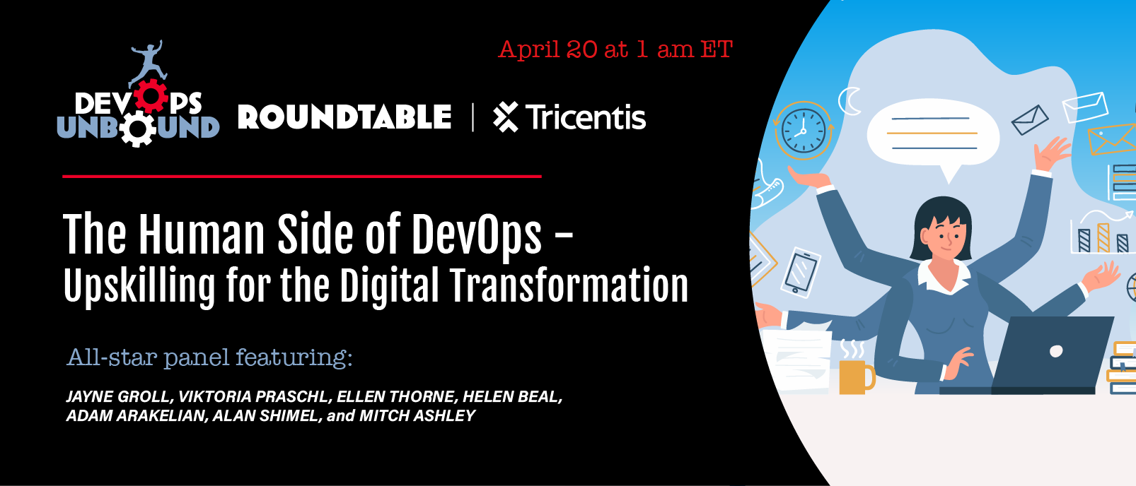 The Human Side of DevOps – Upskilling for the Digital Transformation