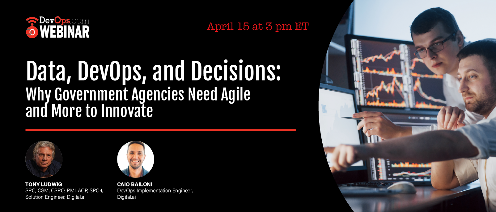 Data, DevOps, and Decisions: Why Government Agencies Need Agile and More to Innovate