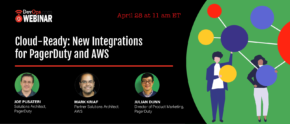 Cloud-Ready: New Integrations for PagerDuty and AWS