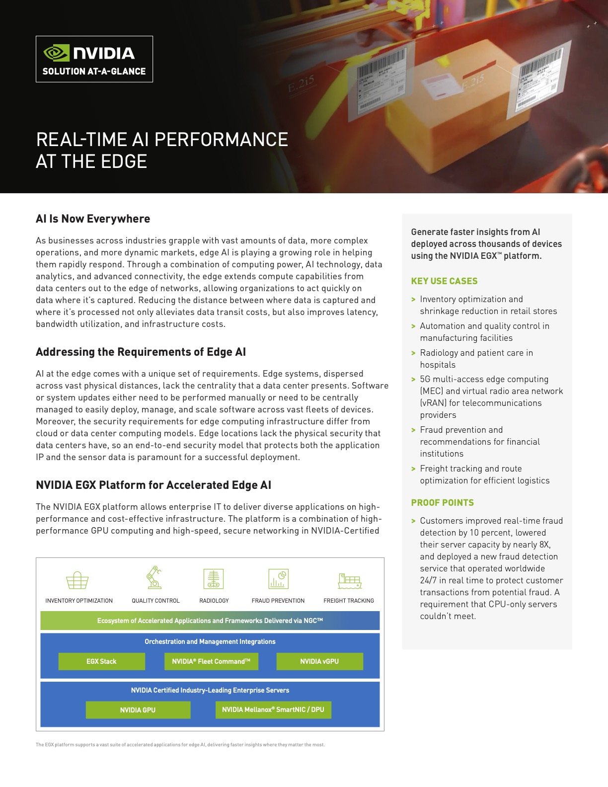 Real-Time AI Performance at the Edge