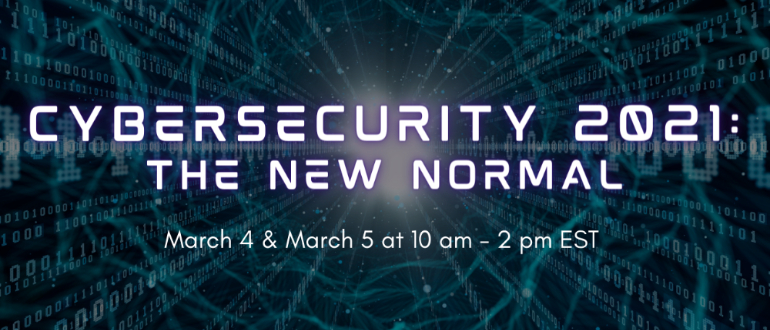 Cybersecurity 2021: The New Normal Virtual Summit - DevSecOps - Identity Access Management - AppSec