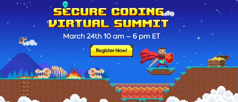 Secure Coding Virtual Summit 2021 - DevSecOps - AppSec - cybersecurity -application security