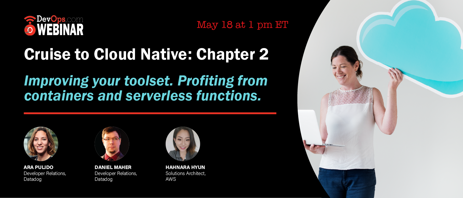 Cruise to Cloud Native: Chapter 2. Profiting from containers and serverless functions.