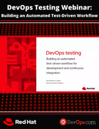 DevOps Testing: Building an Automated Test-Driven Workflow