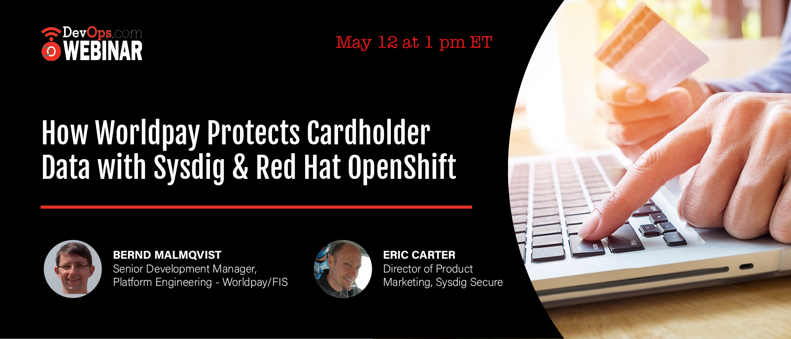 How Worldpay Protects Cardholder Data with Sysdig & Red Hat OpenShift