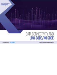 Data Connectivity and Low-Code/No-Code