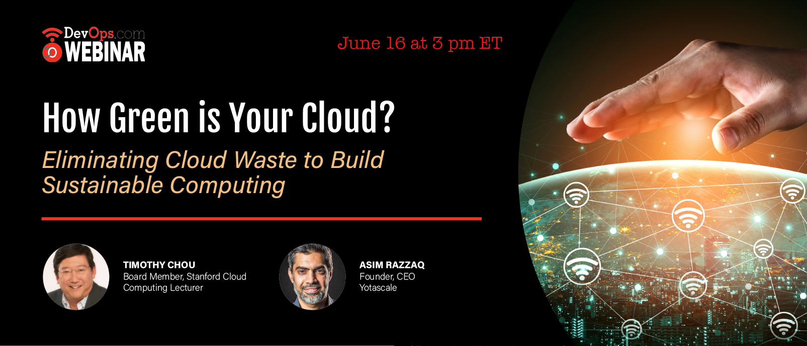 How Green is Your Cloud? Eliminating Cloud Waste to Build Sustainable Computing