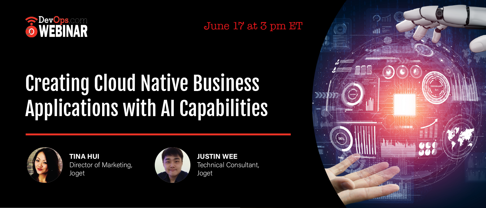 Creating Cloud Native Business Applications with AI Capabilities
