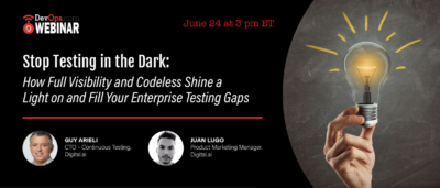 Stop Testing in the Dark: How Full Visibility and Codeless Shine a Light on and Fill Your Enterprise Testing Gaps
