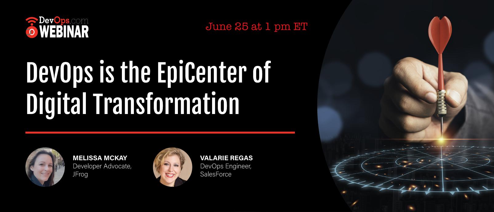 DevOps is the EpiCenter of Digital Transformation