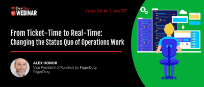 From Ticket-Time to Real-Time: Changing the Status Quo of Operations Work