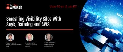 Smashing Visibility Silos With Snyk, Datadog and AWS
