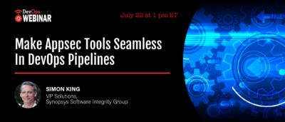 Make Appsec Tools Seamless In Devops Pipelines