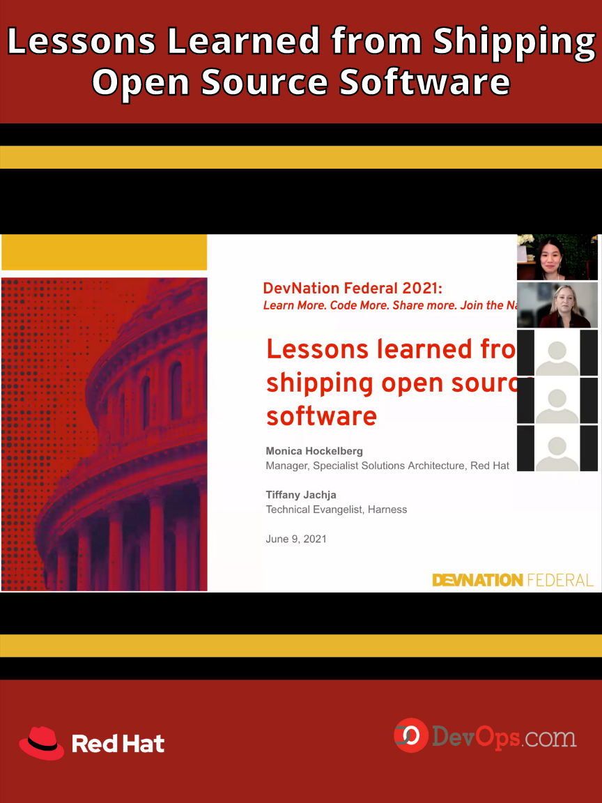 Fireside Chat: Lessons Learned from Shipping Open Source Software