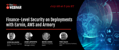Finance-Level Security on Deployments With Earnin, AWS and Armory