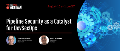 Pipeline Security as a Catalyst for DevSecOps