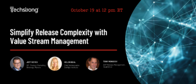 Simplify Release Complexity with Value Stream Management