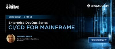 Enterprise DevOps Series: CI/CD for Mainframe