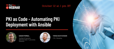 PKI as Code - Automating PKI Deployment with Ansible