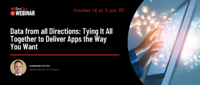 Data from all Directions: Tying It All Together to Deliver Apps the Way You Want