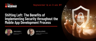Shifting Left: The Benefits of Implementing Security throughout the Mobile App Development Process