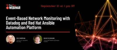 Event-Based Network Monitoring with Datadog and Red Hat Ansible Automation Platform