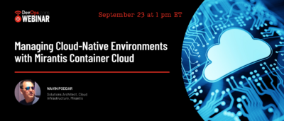 Managing Cloud-Native Environments with Mirantis Container Cloud