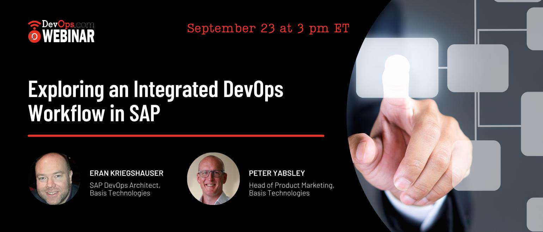 Exploring an Integrated DevOps Workflow in SAP