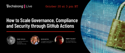 How to Scale Governance, Compliance and Security through GitHub Actions